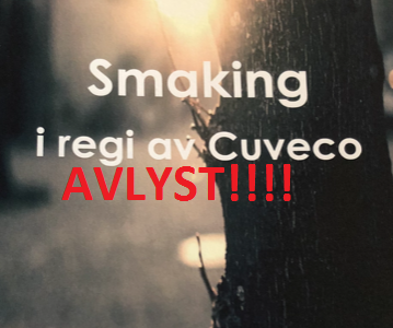 AVLYST - Cuveco smaking 3. september
